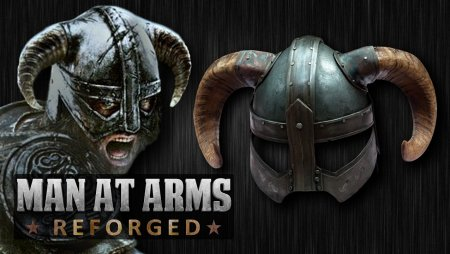 Dragonborn's Iron Helmet (Skyrim) - MAN AT ARMS: REFORGED