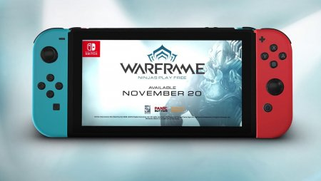 Warframe | Coming to Nintendo Switch - November 20